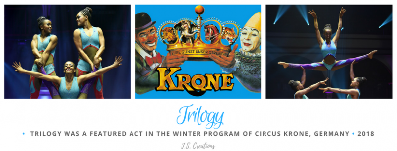 Trilogy Circus Krone Germany 2018 Winter Program